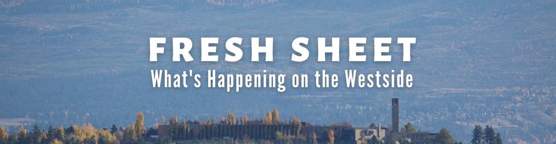 Fresh Sheet - What's Happening