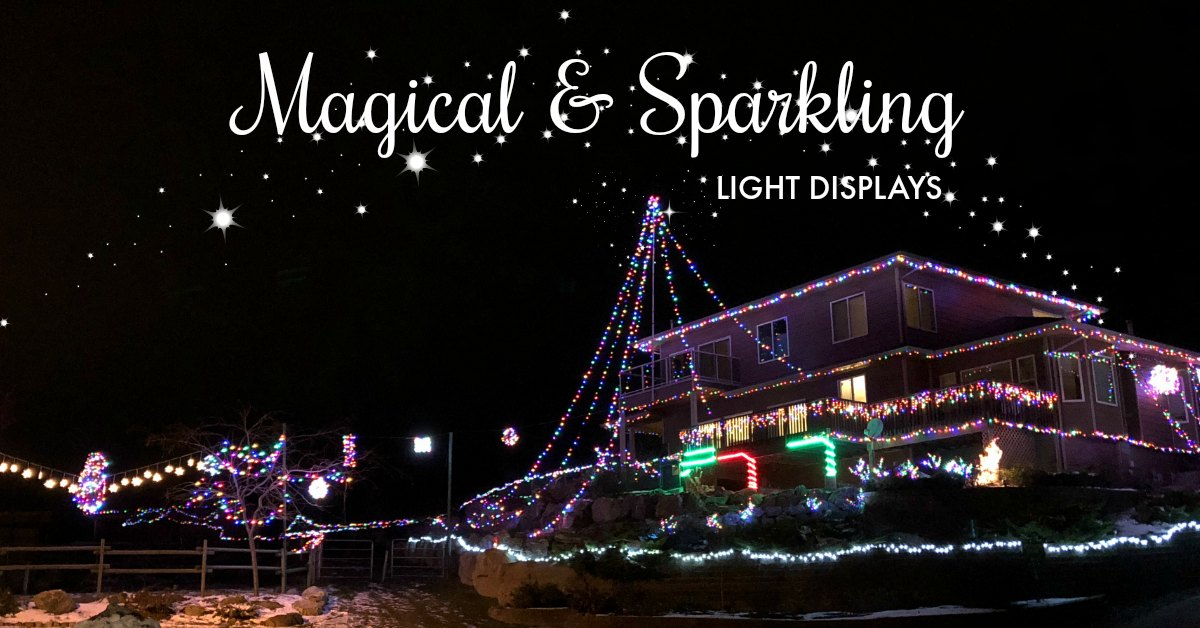 Christmas Light Displays.West Kelowna Holiday Light Displays Visit Westside