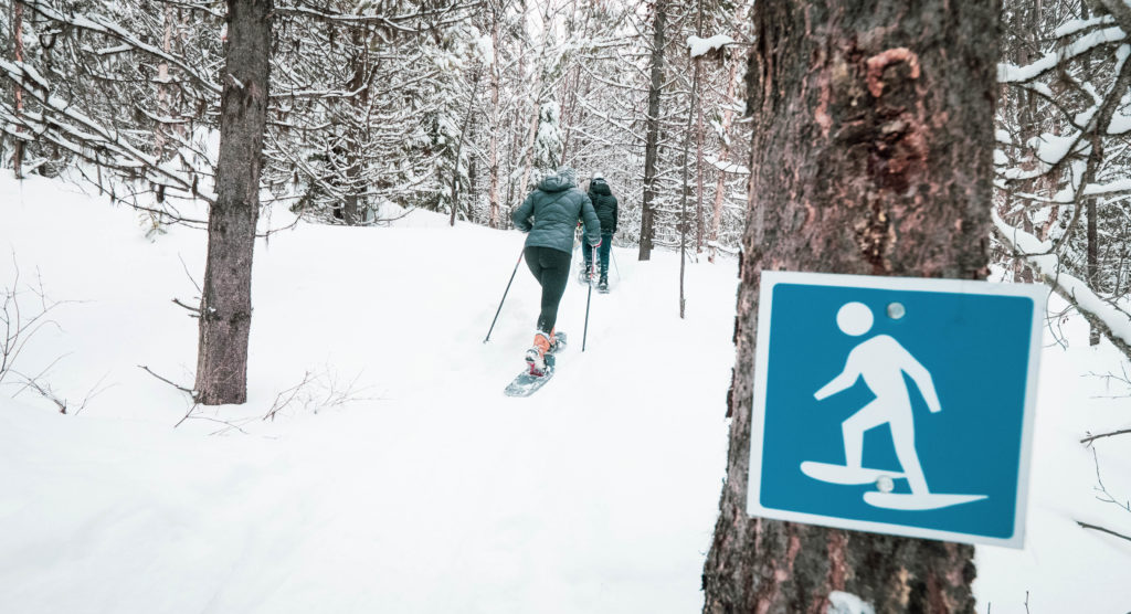 x-country skiing west kelowna