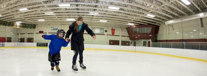 Ice Skating West Kelowna, Jim Lind Arena