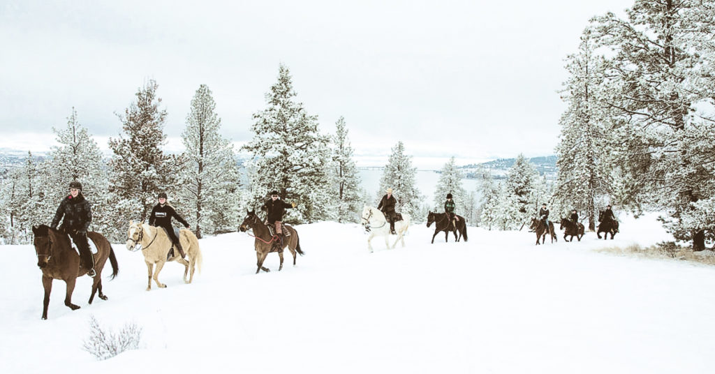 Holiday Gift horseback riding
