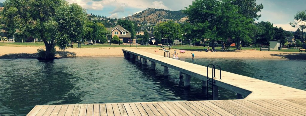 pritchard park and beach west kelowna
