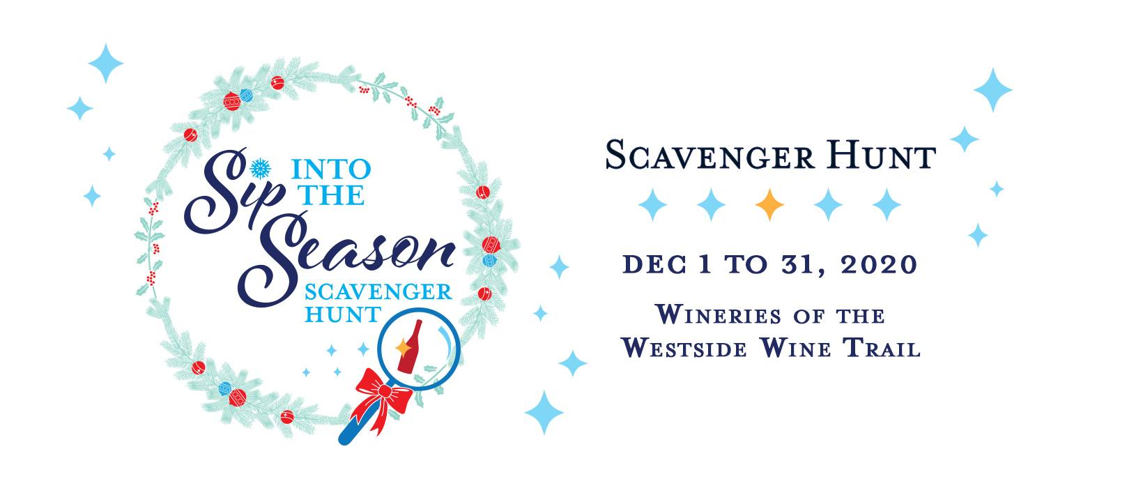 sip into the season scavenger hunt